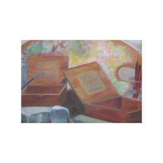 Impressão das canvas de ARTE da CAIXA de CHARUTO Impressão Em Tela