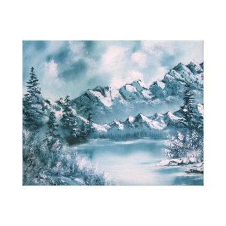 Impressão das canvas de belas artes da paisagem da