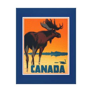 Impressão das canvas de Canadá
