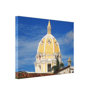 Impressão das canvas de Cartagena da catedral de