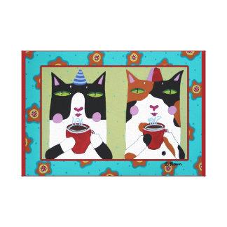 Impressão das canvas de Catalatte