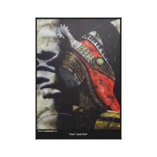 Impressão das canvas de Middlekauff do mandril