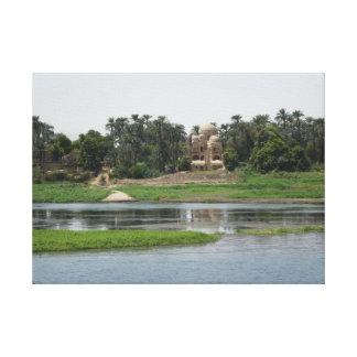 Impressão das canvas de Nile do rio