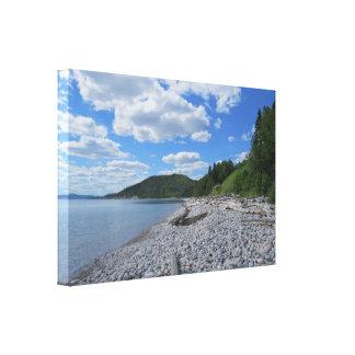 Impressão das canvas de Pebble Beach