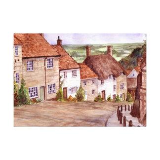 Impressão das canvas de Shaftesbury do monte do