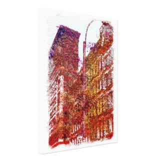 Impressão das canvas de Soho, Nova Iorque