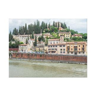Impressão das canvas de Verona Castel San Pietro