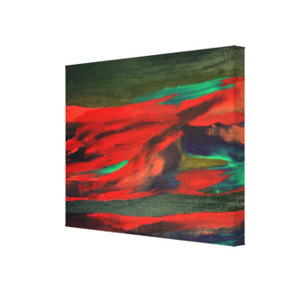 Impressão das canvas do abstrato da árvore de