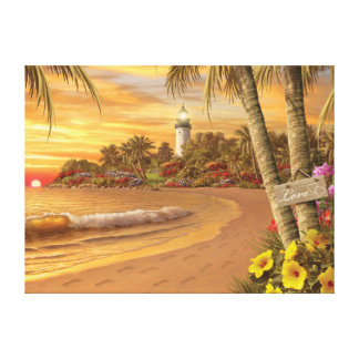 """""""Impressão das canvas do amor tropical"""" de Alan"""