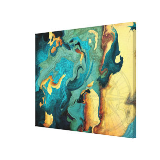 Impressão das canvas do arquipélago