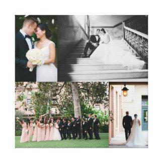 Impressão das canvas do casamento com SUAS FOTOS