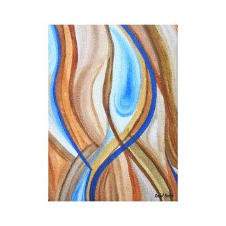 """""""Impressão das canvas do conforto abstrato"""""""