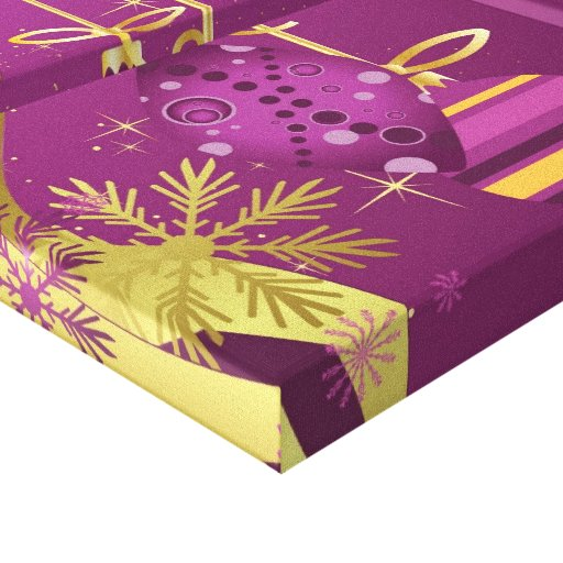 Impressão das canvas do Feliz Natal Impressão De Canvas Esticadas