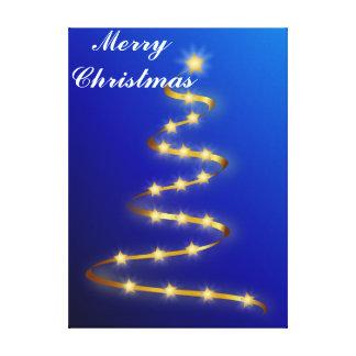 Impressão das canvas do Feliz Natal Impressão De Canvas Envolvidas