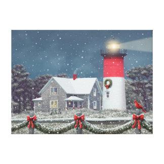 Impressão das canvas do Natal claro de Alan Giana