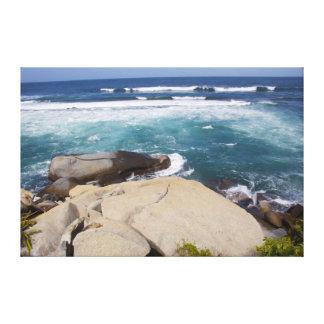Impressão das canvas do paraíso do oceano impressão em tela canvas