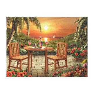Impressão das canvas do por do sol de Alan Giana