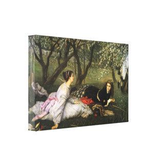 Impressão das canvas do primavera de James Tissot