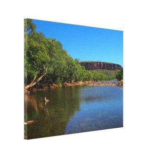 Impressão das canvas do rio de Victoria