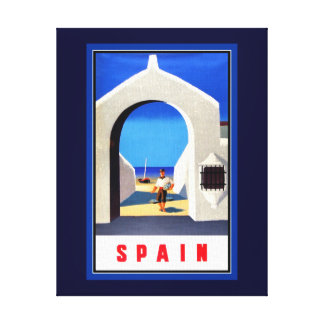 Impressão das canvas do turismo da espanha
