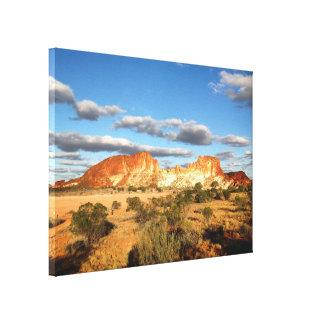 Impressão das canvas do vale do arco-íris