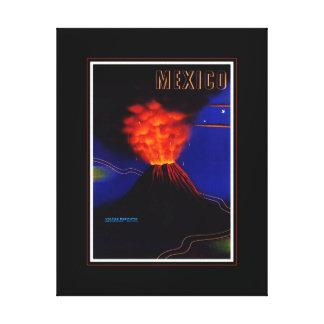 Impressão das canvas do viagem de México