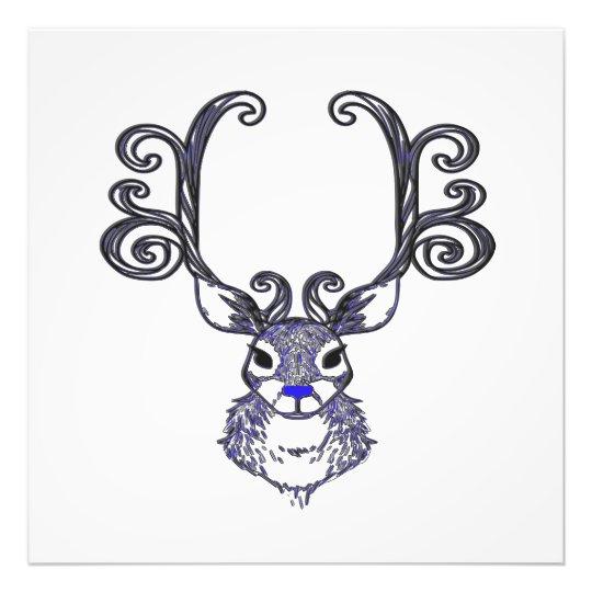 Impressão das canvas dos cervos de Bluenoser N.S. Foto