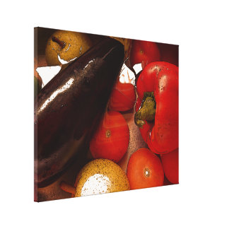 Impressão das canvas - fruta de Vegie