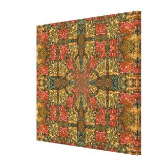 Impressão das canvas - mandala quadrada das