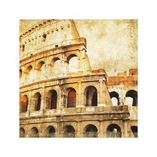 Impressão das canvas - motriz romano antigo da