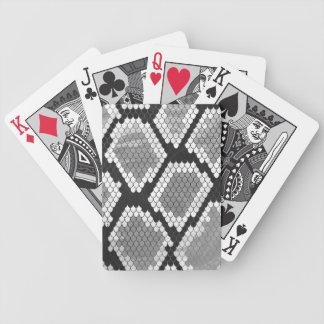 Impressão das cinzas, do branco e do preto do baralho para truco