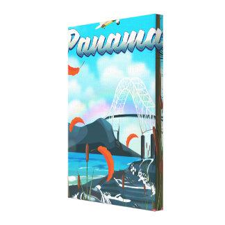Impressão das férias do rio de Panamá