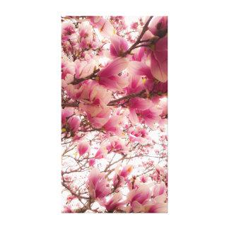 Impressão das flores de maio