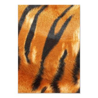 Impressão das listras do tigre do safari convite 8.89 x 12.7cm