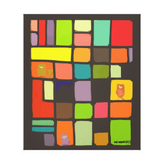 Stylized Color Block Print by idyl-wyld