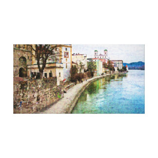 Impressão de Canevas de Passau, Alemanha