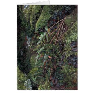 """""""Impressão de cartão da nota da gruta verde"""""""