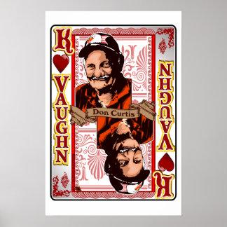 Impressão de cartão de Don Curtis da reunião de