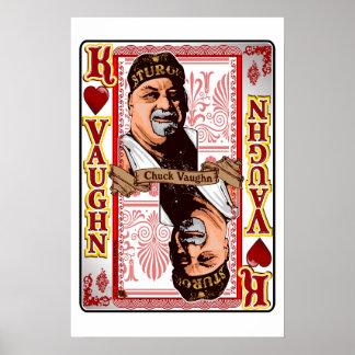 Impressão de cartão de Vaughn do mandril da