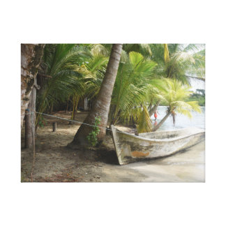 "Impressão de cor ""La da praia de Panamá Playa"""
