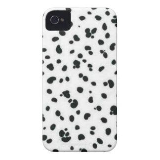 Impressão de Dalmation Capa Para iPhone 4 Case-Mate
