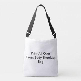Impressão de DIY por todo o lado no saco para o Bolsa Ajustável