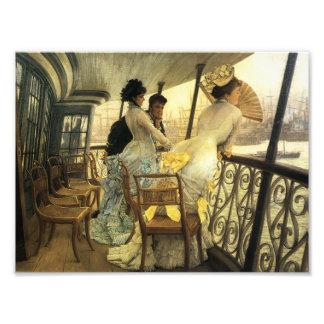 Impressão de James Tissot Portsmouth Foto Arte