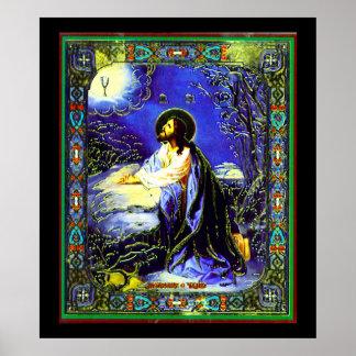 Impressão de Jesus Nouveau do russo