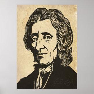 Impressão de John Locke