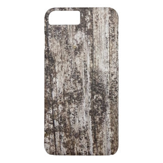 Impressão de madeira velho capa iPhone 7 plus