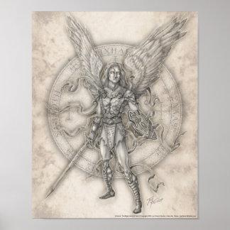 Impressão de Michael do arcanjo