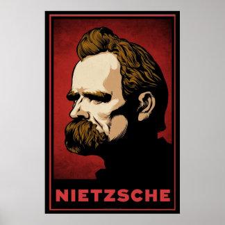 Impressão de Nietzsche