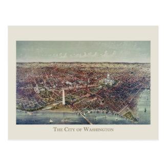 Impressão de Washington, C.C. do vintage Cartão Postal