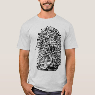 impressão digital camiseta